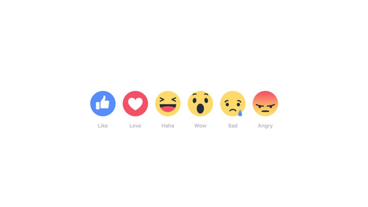 Facebook društvena mreža proširila opciju lajkanja na još 5 emocija