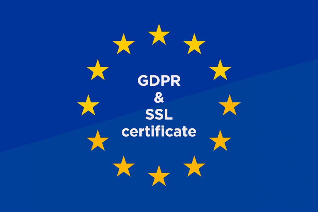 SSL certifikat - bitan dio usklađivanja web stranice s GDPR-om