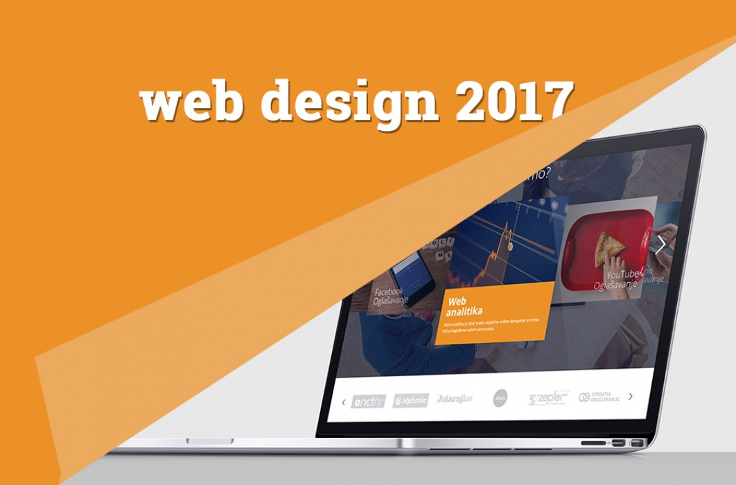 Trendovi za dizajn web stranica u 2017.