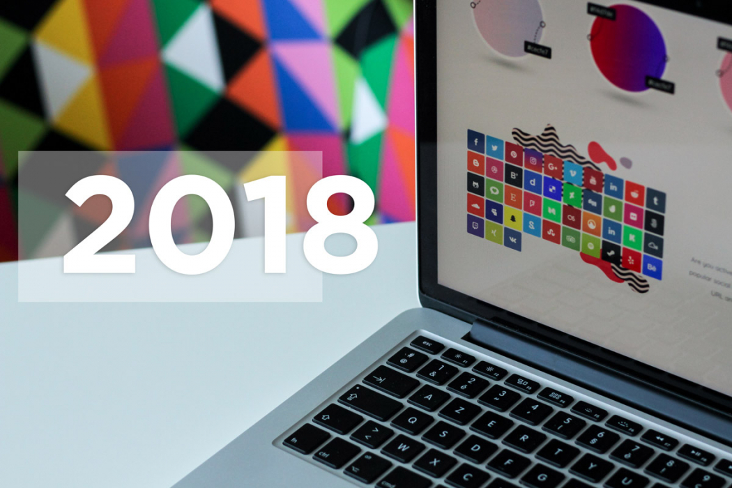 Što donosi 2018. kad je u pitanju web dizajn